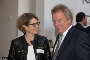Eveline Lemke und Minister Untersteller